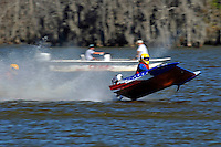 Frame 11: 1-US goes for a wild ride.   (outboard hydroplane)