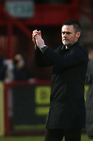 Salford City manager Graham Alexander during Stevenage vs Salford City, Sky Bet EFL League 2 Football at the Lamex Stadium on 15th February 2020