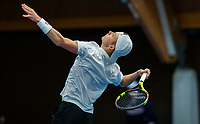 Alphen aan den Rijn, The Netherlands, 25 Januari 2019, ABNAMRO World Tennis Tournament, Supermatch,Final,  Jesper de Jong (NED)<br /> Photo: www.tennisimages.com/Henk Koster