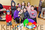 At the St. Brendan's Community Centre, Ballydwyer Annual Bazaar on Sunday Pictured Front l-r Rory O'Connor, Elsie Pegg Rogers, Ryan Doody, Katelyn OConnell, Cian O'Rourke O'Sullivan, Back l-r Adrian O'Connor, Ava Begley, Alanna Doody