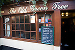 The Old Green Tree pub exterior, Green Street, Bath, England