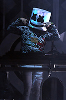 PHILADELPHIA, PA - DECEMBER 5: Marshmello at Q102's iHeartRadio Jingle Ball at Wells Fargo Center in Philadelphia, Pennsylvania on December 5, 2018. <br /> CAP/MPI/JP<br /> &copy;JP/MPI/Capital Pictures
