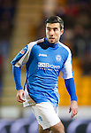 St Johnstone v Aberdeen.....30.01.13      SPL.Michael Doughty.Picture by Graeme Hart..Copyright Perthshire Picture Agency.Tel: 01738 623350  Mobile: 07990 594431