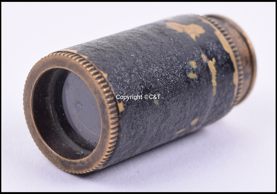 BNPS.co.uk (01202 558833)<br /> Pic: C&T/BNPS<br /> <br /> A S.O.E/Royal Air Force Escape Miniature Telescope.<br /> <br /> A fascinating array of James Bond style concealed weapons which British spies had at their disposal in the Second World War have been unearthed and they include a pipe digger and a lethal pencil.<br /> <br /> The chilling collection consists of seemingly everyday items which, on closer inspection, conceal a deadly tool Special Operations Executive agents could turn to in a do-or-die situation behind enemy lines.<br /> <br /> The 'escape and evasion' items have been amassed by a collector of World War Two memorabilia over the years but have now emerged for auction.