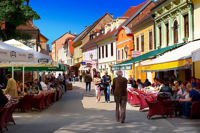 Cafes & restaurants  in Ivana Tkal?i?a, Zagreb, Hrvatska, Croatia