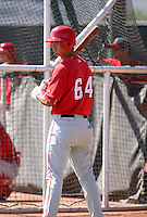 Gabe Jacobo / Los Angeles Angels 2008 Instructional League..Photo by:  Bill Mitchell/Four Seam Images