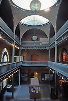 Berkeley CA:  Hearst Mining Building--Interior.  Photo '84.