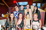 Sarah Whitehead from Lios Rua in Tralee celebrating her 40th birthday with family and friends on Saturday night at Ristorante Uno Front l-r  Kayleigh Murphy, Sarah Whitehead, Jessica Koztriver and Megan Smith. Back l-r  Claudia Rigney, Keith O'Brien, Shauna Murphy and Christina Hambridge