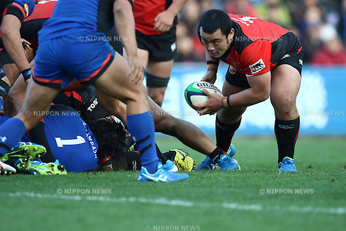 Masataka Mikami (), DECEMBER 12, 2015 - Rugby : Japan Rugby Top League 2015-2016 match between Toshiba Brave Lupus 17-17 Panasonic Wild Knights at Chichibunomiya Rugby Stadium, Tokyo, Japan. (Photo by Naoto Akasaka/AFLO)