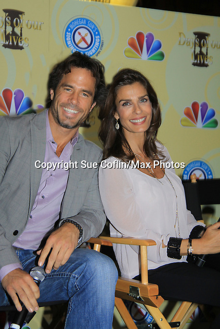 Days Of Our Lives National Tour - Kristian Alfonso, Drake Hogestyn, Suzanne Rogers, Shawn Christian, James Reynolds, Joseph Mascolo, Lauren Koslow, Camila Banus, Blake Berris on September 15, 2012 at The Shops at Mohegan Sun, Uncasville, Connecticut. (Photo by Sue Coflin/Max Photos)