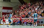 Stockholm 2013-11-10 Handboll Elitserien Hammarby IF - Eskilstuna Guif :  <br /> Eskilstuna Guif publik supportrar p&aring; plats i Eriksdalshallen<br /> (Foto: Kenta J&ouml;nsson) Nyckelord:  supporter fans publik supporters