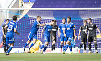 Gwion Edwards of Ipswich Town celebrates his goal during Ipswich Town vs Wigan Athletic, Sky Bet EFL League 1 Football at Portman Road on 13th September 2020