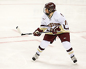 Caitlin Walsh (BC - 11) - The visiting St. Lawrence University Saints defeated the Boston College Eagles 4-0 on Friday, January 15, 2010, at Conte Forum in Chestnut Hill, Massachusetts.