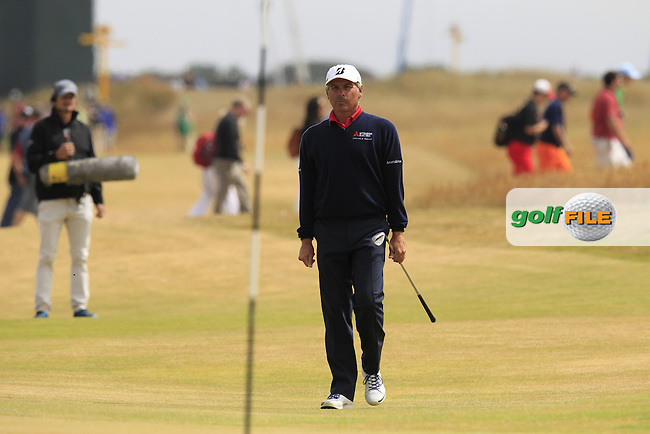 Fred COUPLES (USA) during round 4 of  The 142th Open Championship Muirfield, Gullane, East Lothian, Scotland 21/7/2013<br /> Picture Eoin Clarke www.golffile.ie: