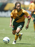 12 June 2004: Galaxy Forward Cobi Jones in action against Chicago Fire at Home Depot Center in Los Angeles, California.    Mandatory Credit: Michael Pimentel / ISI