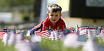 Joseph Jacobson, 2, participates in the 5th annual Veterans Suicide Awareness March, hosted by the Western Nevada College Veterans Resource Center, in Carson City, Nev., on Saturday, May 4, 2019. <br /> Photo by Cathleen Allison/Nevada Momentum