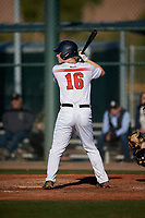 Joshua George during the Under Armour All-America Tournament powered by Baseball Factory on January 18, 2020 at Sloan Park in Mesa, Arizona.  (Mike Janes/Four Seam Images)