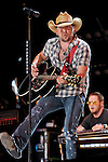 Jason Aldean performs at LP Field during the 2011 CMA Music Festival on June 9, 2011 in Nashville, Tennessee.