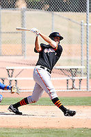 Andrew D'Alessio, San Francisco Giants 2010 minor league spring training..Photo by:  Bill Mitchell/Four Seam Images.