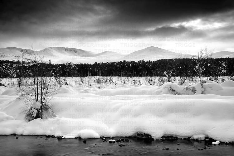 Taken of the Cairngorms Mountain Range