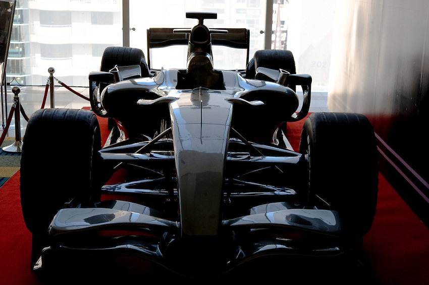 2010 Korean Grand Prix Formula One Car