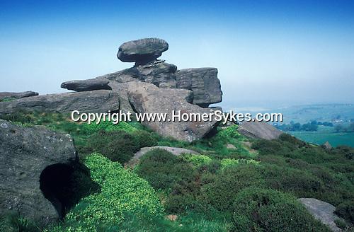 Brimham Rocks, Nr Pateley Bridge North  Yorkshire England