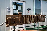 Arqua Del Tronto (AP): La sede provvisoria della sede comunale. Photo di Adamo Di Loreto/BuenaVista*photo