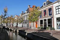 Gracht in Franeker.
