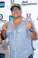 Artist Leonardo Hidalgo attends Real Housewives of Miami Season 3 VIP Premiere Party, at Lou La Vie, Miami, FL, on August 6, 2013
