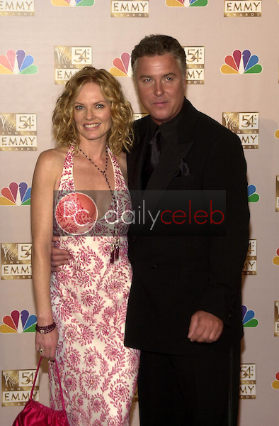Marg Helgenberger and William Peterson