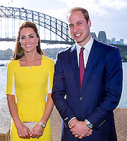 Kate, Duchess of Cambridge & Prince William at the Opera House in Sidney - Australia