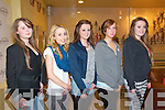 Fashion Show: pictured at the annual spring fashion show in aid of St. Joseph's Secondary School, Ballybunion held in The Tintean Theatre, Ballybunion on Friday night last were Rosie Ashman, Colleen Kennelly, Molli Buckley, Norma Houlihan & Shannon Cummins.