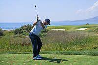 Andy Sullivan (ENG) on the 7th tee during Round 3 of the Rocco Forte Sicilian Open 2018 played at Verdura Resort, Agrigento, Sicily, Italy on Saturday 12th May 2018.<br /> Picture:  Thos Caffrey / www.golffile.ie<br /> <br /> All photo usage must carry mandatory copyright credit (&copy; Golffile   Thos Caffrey)