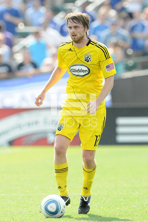 Eddie Gaven...Kansas City Wizards were defeated 1-0 by Columbus Crew at Community America Ballpark, Kansas City, Kansas.