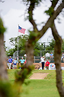 Ryan Armour (USA) watches his tee shot on 10 during round 1 of the Valero Texas Open, AT&amp;T Oaks Course, TPC San Antonio, San Antonio, Texas, USA. 4/20/2017.<br /> Picture: Golffile | Ken Murray<br /> <br /> <br /> All photo usage must carry mandatory copyright credit (&copy; Golffile | Ken Murray)
