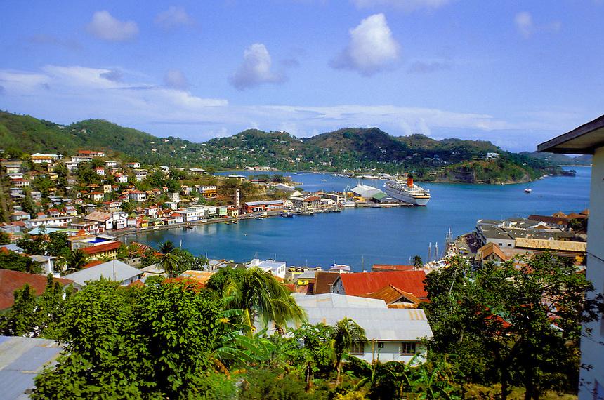 St. George's Harbor.Grenada.