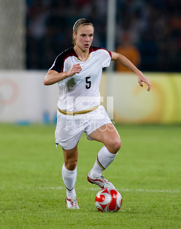 Lindsay Tarpley. The USWNT defeated Japan, 4-2, during the semi-finals of the Beijing 2008 Olympics in Beijing, China.