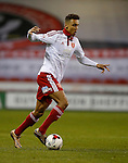 Dominic Calvert-Lewin of Sheffield Utd  in a action  - English League One - Sheffield Utd vs Burton Albion - Bramall Lane Stadium - Sheffield - England - 1st March 2016 - Pic Simon Bellis/Sportimage