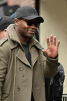 www.acepixs.com<br /> January 14, 2017 New York City<br /> <br /> David Oyelowo was seen arriving to a performance of Othello at the New York Theater Workshop on January 14, 2017 in New York City.<br /> <br /> Credit: Kristin Callahan/ACE Pictures<br /> <br /> <br /> Tel: 646 769 0430<br /> e-mail: info@acepixs.com