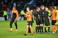 Barnet At the Final Whistle Applause Fan's during Barnet vs Stockport County, Emirates FA Cup Football at the Hive Stadium on 2nd December 2018