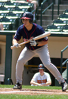 July 14, 2003:  Cesar Crespo of the Pawtucket Red Sox, Class-AAA affiliate of the Boston Red Sox, during a International League game at Frontier Field in Rochester, NY.  Photo by:  Mike Janes/Four Seam Images