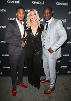 07 March 2018 - Culver City, California - Cory Hardrict, Elisabeth Rohm, Kwame Patterson. &quot;The Oath&quot; TV Series Los Angeles Premiere held at Sony Pictures Studios.   <br /> CAP/ADM/FS<br /> &copy;FS/ADM/Capital Pictures