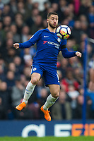 Chelsea's Eden Hazard in action <br /> <br /> Photographer Craig Mercer/CameraSport<br /> <br /> The Premier League - Chelsea v West Ham United - Sunday 8th April 2018 - Stamford Bridge - London<br /> <br /> World Copyright &copy; 2018 CameraSport. All rights reserved. 43 Linden Ave. Countesthorpe. Leicester. England. LE8 5PG - Tel: +44 (0) 116 277 4147 - admin@camerasport.com - www.camerasport.com