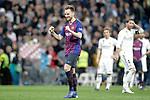 FC Barcelona's Ivan Rakitic celebrates victory during La Liga match. March 02,2019. (ALTERPHOTOS/Alconada)