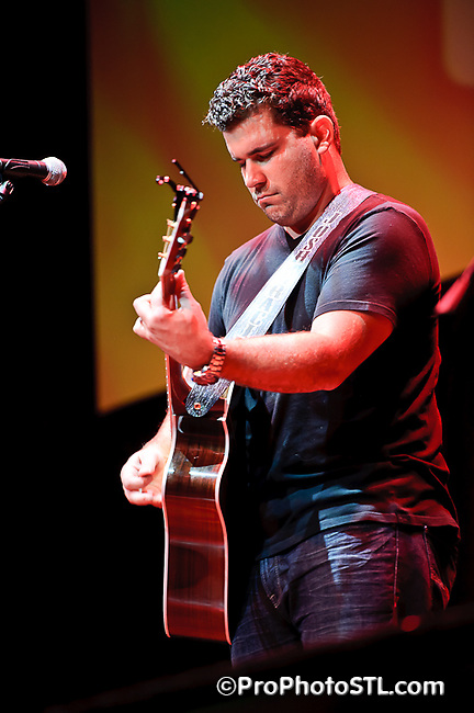 Josh Gracin in concert at Little Patriots Embraced benefit at Voodoo Lounge of Harrah's St. Louis in Maryland Heights, MO on Nov 4, 2010.