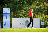 Dan Huizing (NED) during the first round of the Kazakhstan Open presented by ERG played at Zhailjau Golf Resort, Almaty, Kazakhstan. 13/09/2018<br /> Picture: Golffile | Phil Inglis<br /> <br /> All photo usage must carry mandatory copyright credit (&copy; Golffile | Phil Inglis)