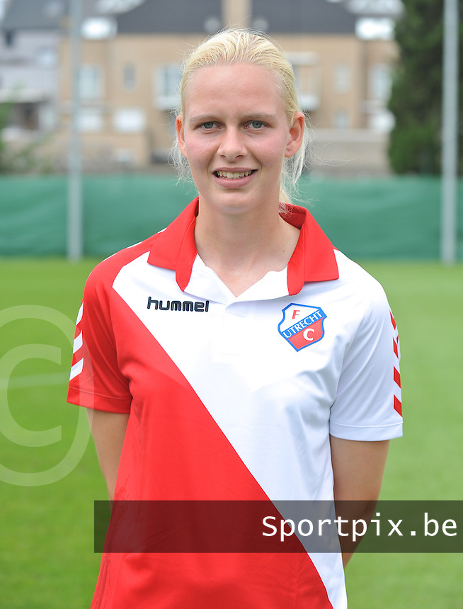 FC Utrecht Dames : Chelsea Disseldorp .foto DAVID CATRY / Vrouwenteam.be