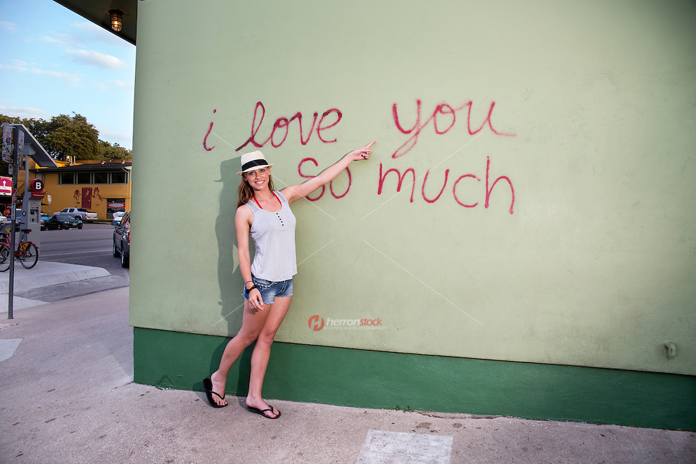 """The """"I love you so much"""" mural on South Congress is a symbol of Austin's love and community spirit."""