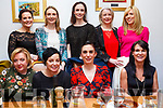 Enjoying the Womens Little Christmas in the Bella Bia  Restaurant on Saturday night, seated l-r, Mary Carney, Kay Curneen, Jenny O&rsquo;Connell and Caitriona Spillane.<br /> Back l-r, Patricia O&rsquo;Connor, Michelle Stack, Hilary Cotter, Maura Collins and Ann Marie Scanlon.