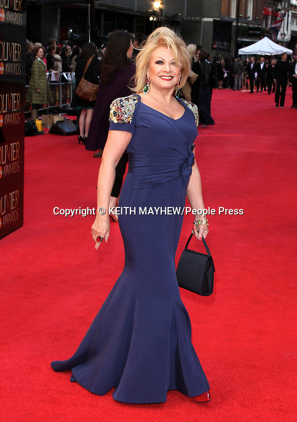 London - Red carpet arrivals at the Olivier Awards held at the Royal Opera House, Covent Garden, London - April 15th 2012..Photo by Keith Mayhew.